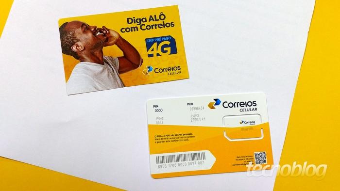 Correios Celular lança planos com até 8 GB e WhatsApp grátis | Telecomunicações | Tecnoblog
