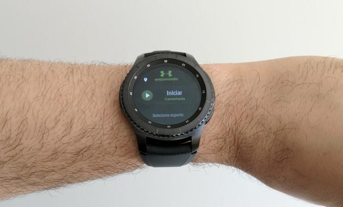 Uma olhada nos apps do Samsung Gear S3: Spotify, Under