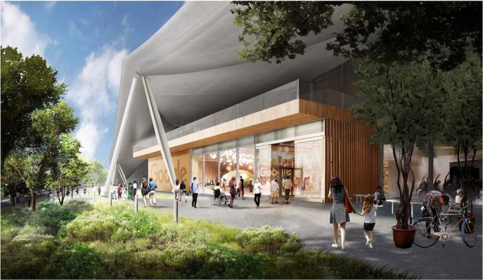 Ese será el nuevo campus de Mountain View de Google
