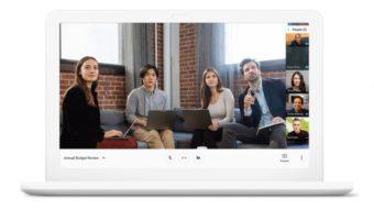 Google Meet mostra lag e uso de CPU em chamadas de vídeo