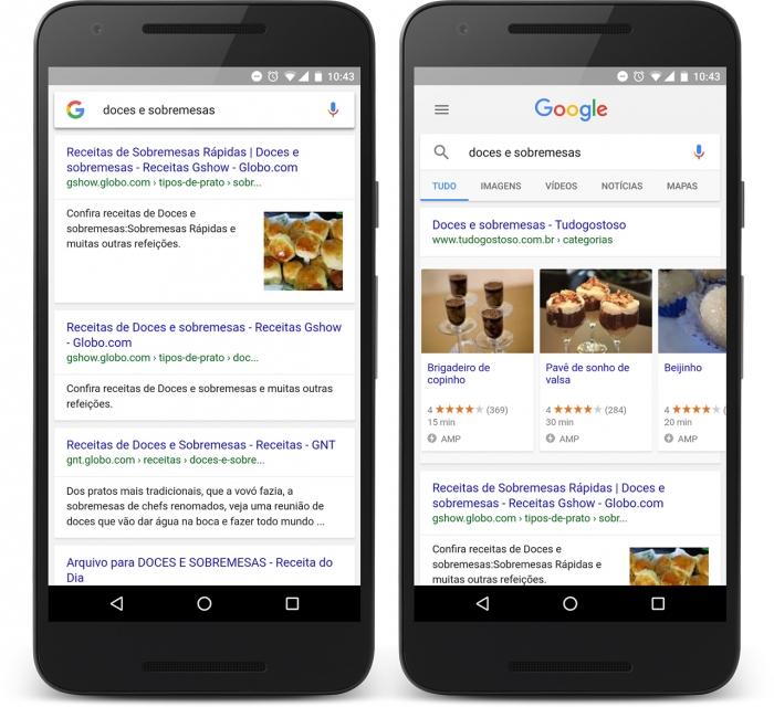 busca do Google acaba de ficar mais atraente gra