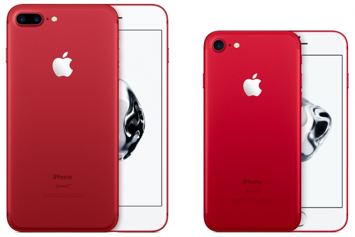 Apple presenta el iPhone 7 rojo y duplica el almacenamiento del iPhone SE