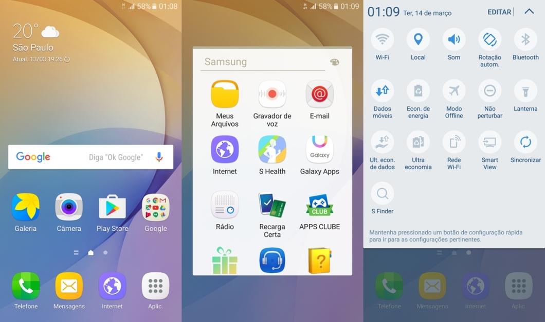 Samsung Galaxy J7 Prime - TouchWiz