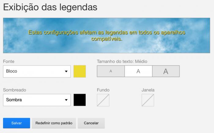 Como mudar a fonte e a cor das legendas na Netflix – Tecnoblog 0c2d019f8ab