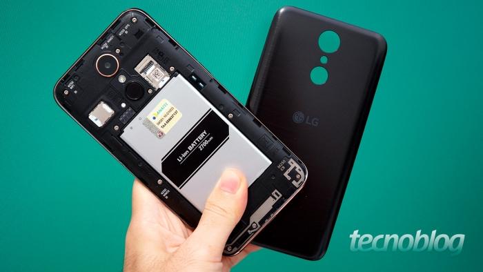 LG K10 e Moto G5