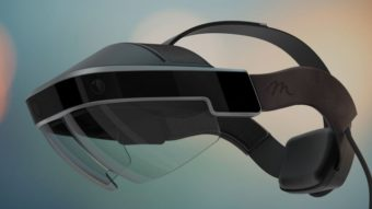 Meta 2 é um headset de realidade mista que concorre com o Microsoft HoloLens