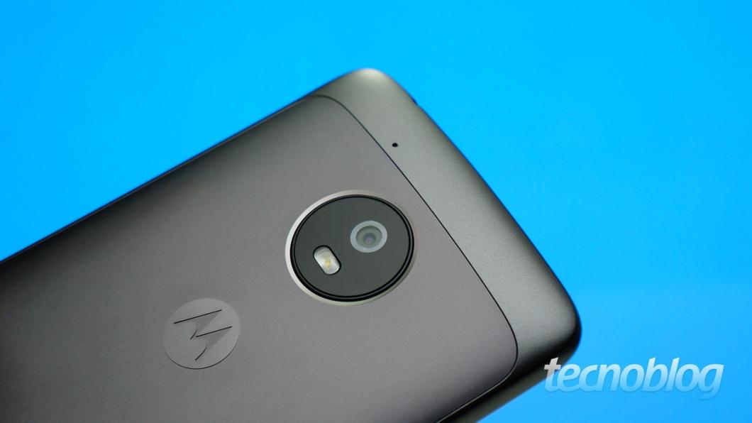 Moto G5 - câmera