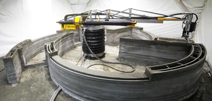 Apis Cor - impressora 3D