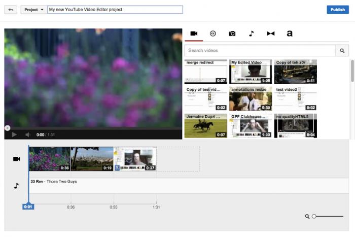 como editar videos para youtube android