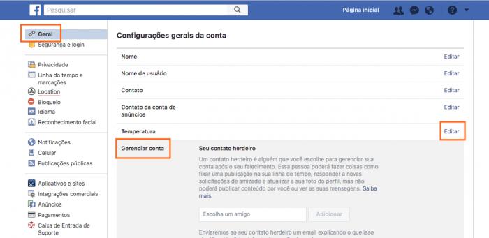 Facebook: como desativar e excluir contas