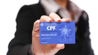 CPF deverá substituir outros documentos com decreto de Bolsonaro