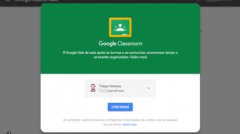 Novo Google Classroom permite organizar salas de aula online mais facilmente