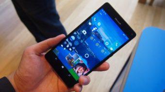 Windows 10 Mobile receberá Creators Update apenas nestes aparelhos