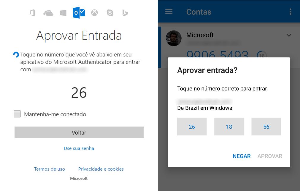 Microsoft permite fazer login sem senha usando o smartphone