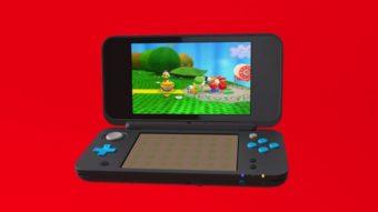 Nintendo tem novo portátil: New Nintendo 2DS XL