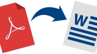 Como converter PDF em Word [formato .doc]