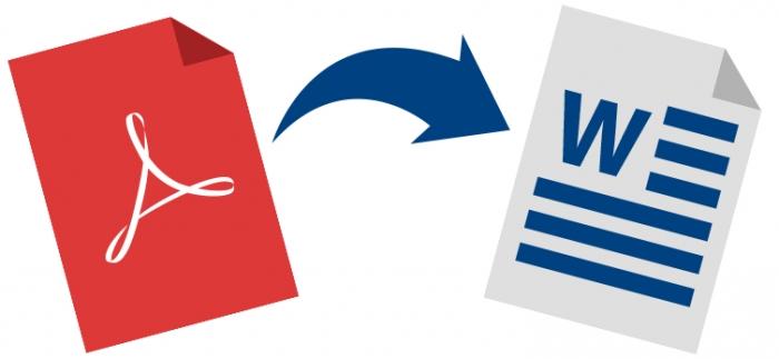 como faco para converter um arquivo pdf para word