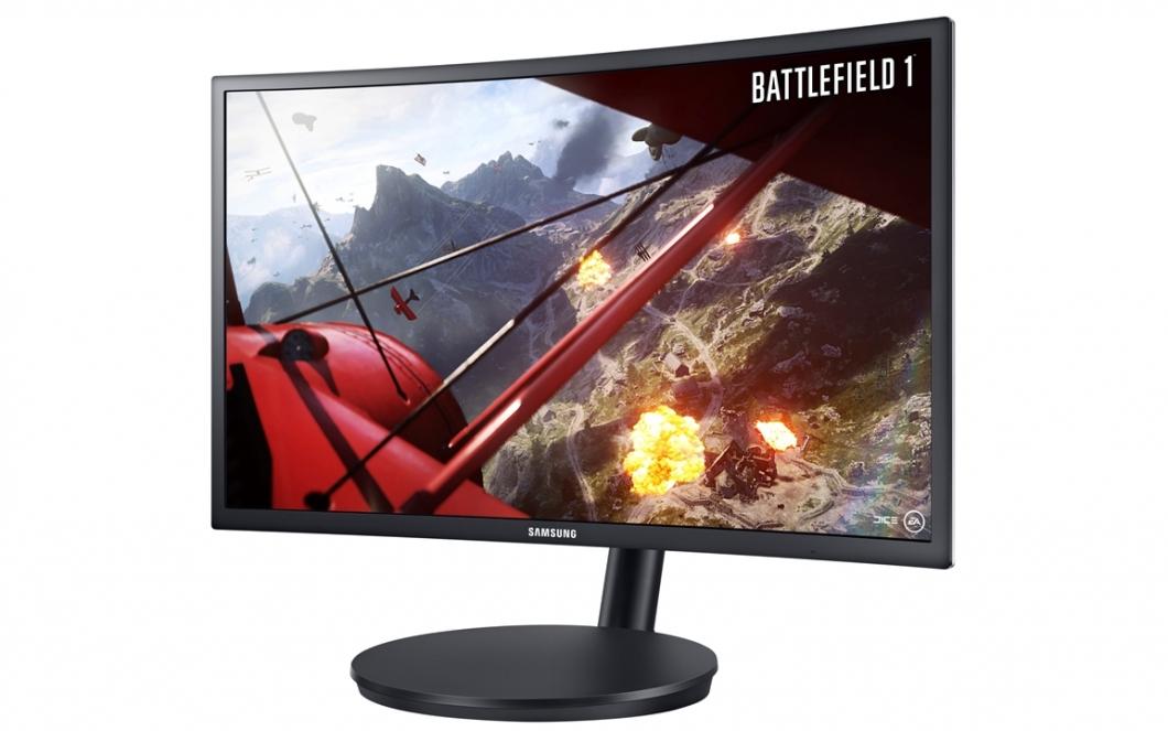 Samsung Monitor Curvo Gamer