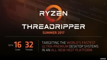 AMD revela processadores Ryzen Threadripper com 12 e 16 núcleos