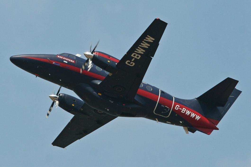 Jetstream 31 da BAE Systems (Fonte: Wikipedia)