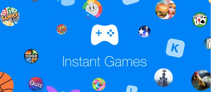 facebook jogos instant games