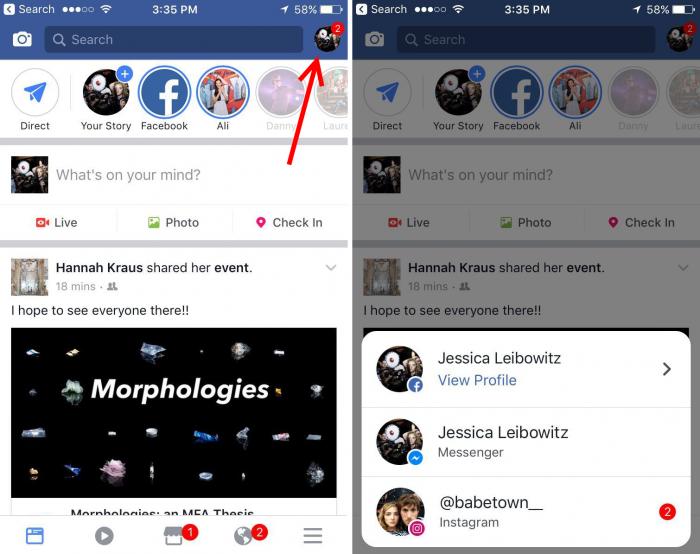 5cfce07f472e4 Facebook testa notificações unificadas do Messenger e Instagram no ...