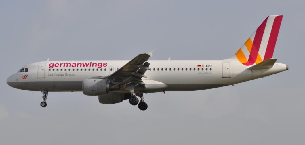 Airbus A320 da Germanwings (Fonte: Wikipedia)