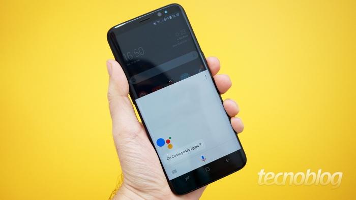 Google tenta destacar Google Assistente no lugar da Bixby em celulares Samsung Galaxy