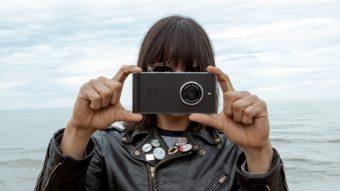 O smartphone Kodak Ektra roda Android e tem câmera de 21 megapixels