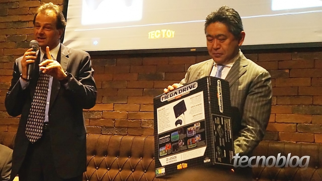 Stefano Arnhold e Tsurumi Naoya (COO da Sega)