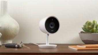 Câmera de segurança detecta pessoas usando reconhecimento facial do Google