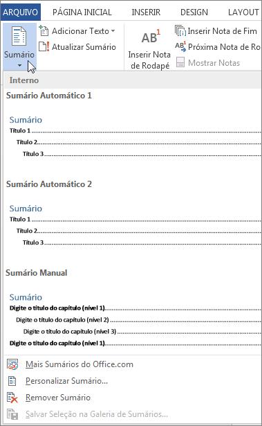 Como fazer um sumário ABNT no Word [Windows ou Mac]