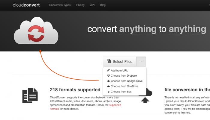 Cloud Convert Videos