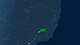 Como rastrear voos online e em tempo real