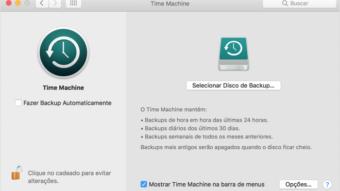 Como fazer backup do seu Mac