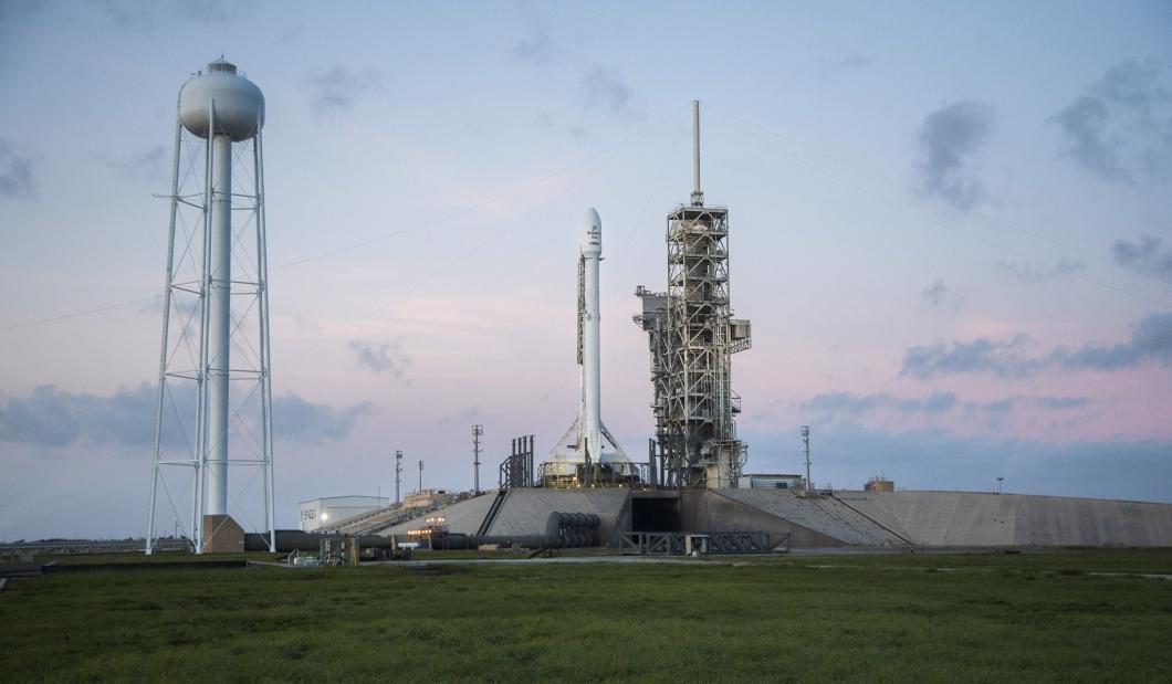 O lançamento foi feito a partir do Centro Espacial Kennedy, na Flórida