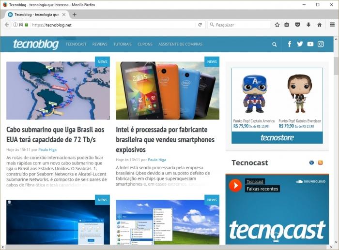 Firefox - Tecnoblog