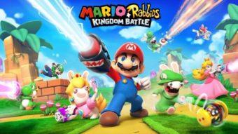 Mario + Rabbids Kingdom Battle é um crossover maluco criado por Ubisoft e Nintendo