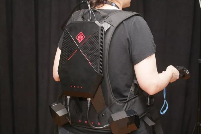Agora como mochila (Imagem por CNET)