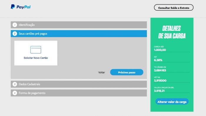 Paypal agora permite fazer compras no exterior sem carto de crdito quando o pagamento for feito o carto automaticamente vinculado sua conta do paypal stopboris Gallery