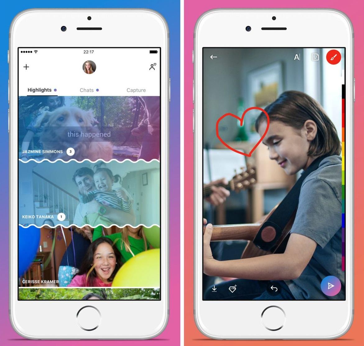 Skype también copia Snapchat y obtiene la función de historias