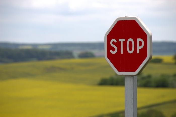 Stop (Crédito: Pixabay)