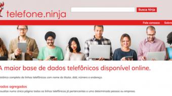 Telefone.ninja mostra seu número, endereço e e-mail; veja como remover