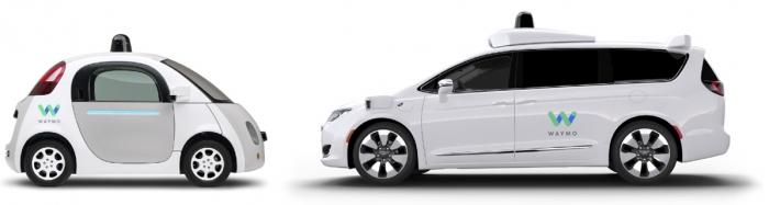 Firefly e a minivan Chrysler Pacifica
