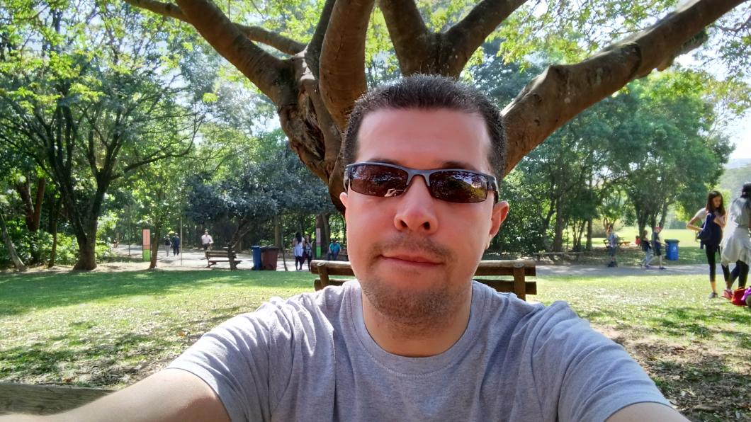 Foto registrada com o Xperia XA1