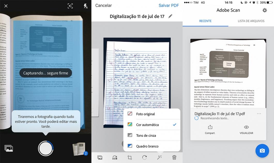 Os melhores aplicativos para escanear documentos – Celular