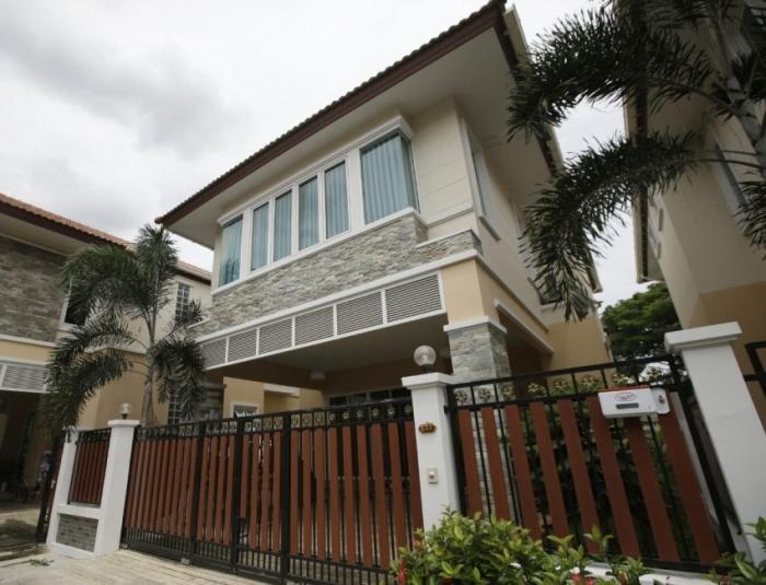 Uma das casas de Cazes, na Tailândia