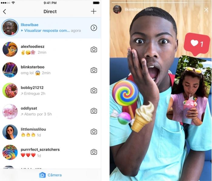 Instagram testa Direct como aplicativo separado