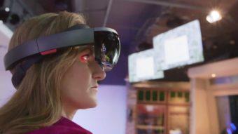 A Microsoft fez um chip de inteligência artificial para o próximo HoloLens