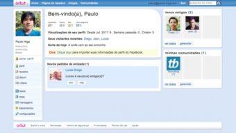Inventaram um clone do Orkut que funciona (mas cuidado)